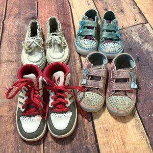 Sketchers Adidas Sperry Top Sider Toddler Lot 9 10